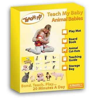 Teach My Baby - Animal Babies, Box