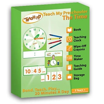 Teach My Preschooler - The Time, Box