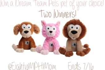 Get The Kids a Good Night's Sleep with Dream Team Pets
