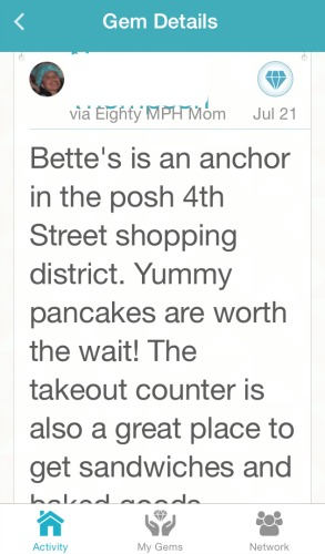 Bette's Oceanivew Diner review,GemShare