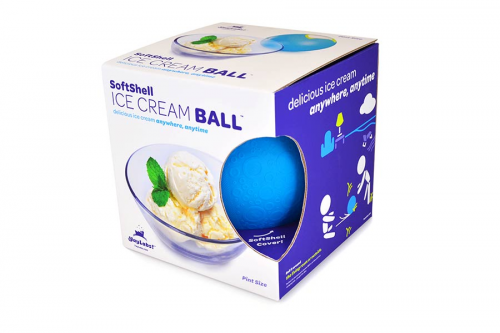ice cream ball in box