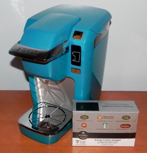 Aqua Blue Keurig K10 MINI Plus Brewing System