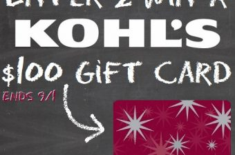 Kohl's Back-to-School Giveaway