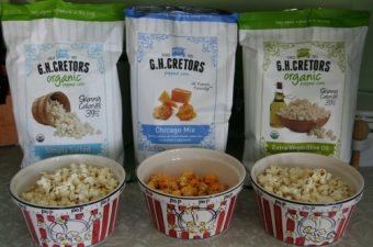 Delicious Popped Corn from G.H. Cretors