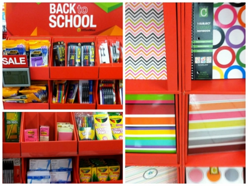 Kohl's and OfficeMax Back-to-School