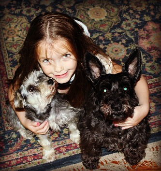 Pippa and Lucy