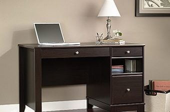 Sauder helped me create a new office with a quality, easy-to-assemble desk!