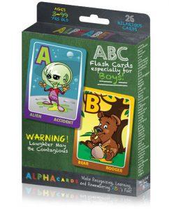 He's All Boy Alpha Cards