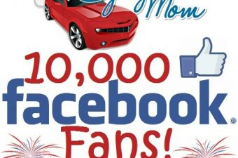 Eighty MPH Mom 10,000 Facebook Fans Giveaway Extravaganza