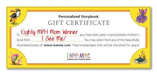 I See Me! Gift Certificate
