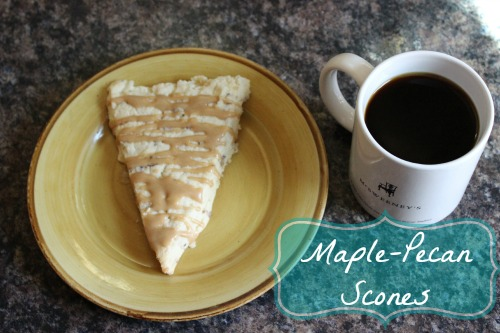 Maple-Pecan Scones