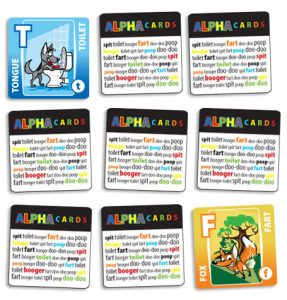 He's All Boy Alpha Cards: Matching Game