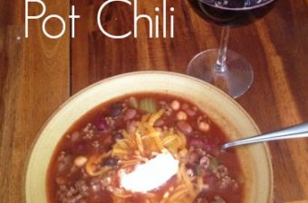 Easy Two Pot Chili