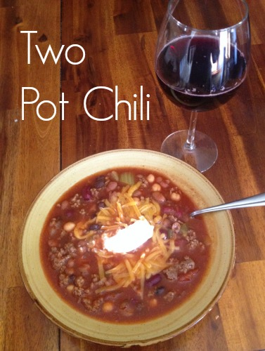 Two Pot Chili