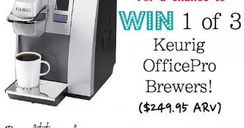 Win,Keurig, brewer,OfficePro