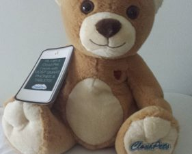 Snuggle With Family From a Distance with Cloud Pets Teddy