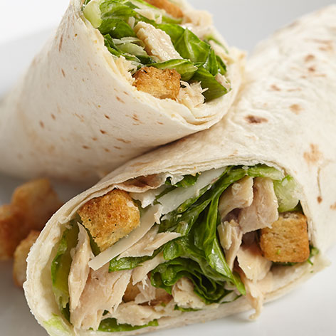 Chicken of the Sea - Tuna Caesar Wrap