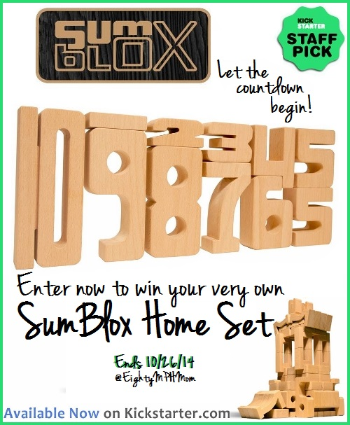 SumBlox Giveaway on Eighty MPH Mom