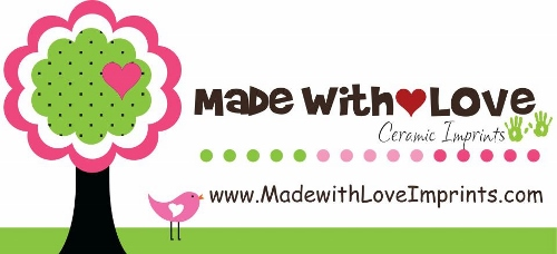 Made with Love Ceramic Imprints Logo