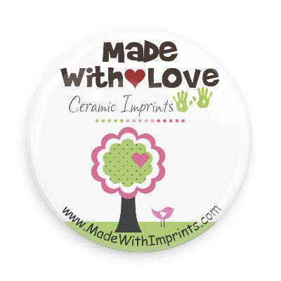 Made with Love Ceramic Imprints, Small Logo