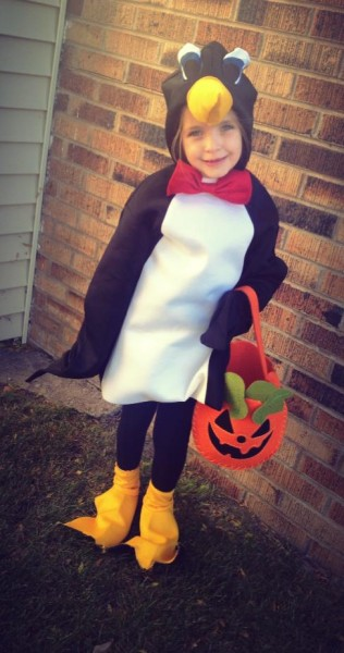 Paige the Penguin.