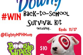 Downy Wrinkle Releaser Plus with Back-to-School Survival Kit