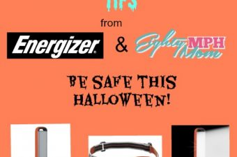 Halloween Safety Tips from Energizer! #PoweringSafety