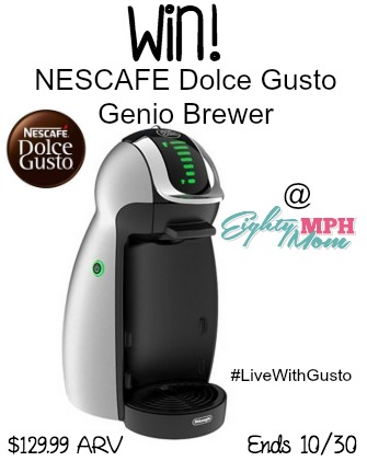 nescafe, dolce gusto,brewer, giveaway