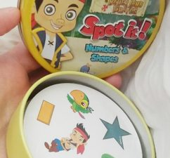Playing and Learning with Disney Spot It Games