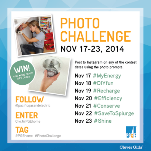 #PGEhome Instagram Photo Challenge Contest