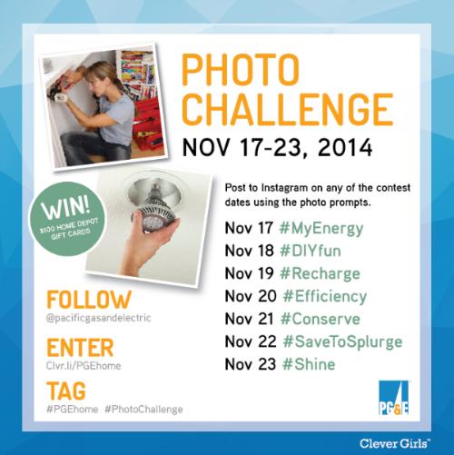 #PGEhome Instagram Photo Challenge Contest