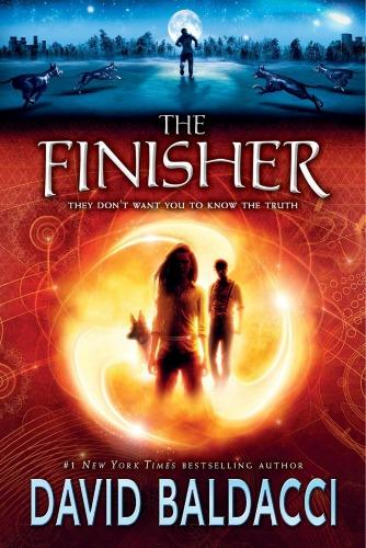 David Baldacci,author, book The Finisher