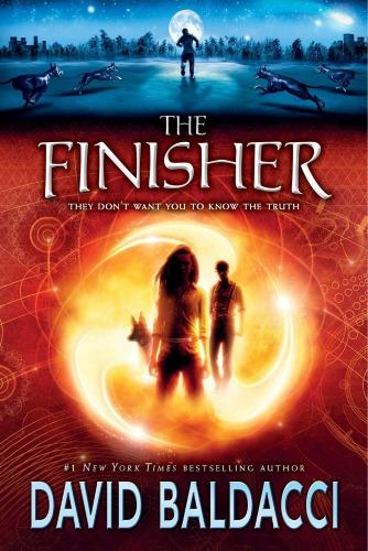 David Baldacci,author, book The Finisher