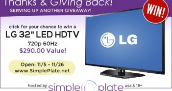 Flatscreen tv giveaway,Simple Plate