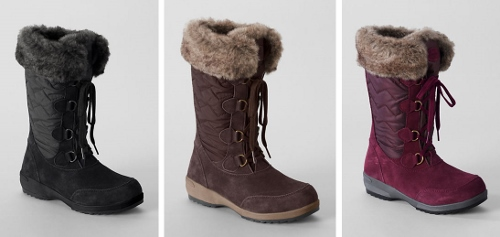Lands' End, Boot Collage