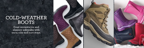 Lands' End, Cold-Weather Boots