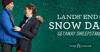 Bundle Up with Lands' End Outerwear and Win – Twitter Party & Sweepstakes Announcement