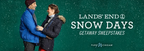 Lands' End, Snow Days Getaway Sweepstakes