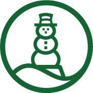 Lands' End Snowman Logo