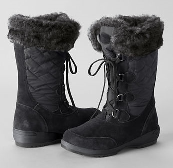 Lands' End, Women's Renata Short Snow Boots