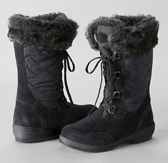 Lands' End, Women's Renata Short Snow Boots