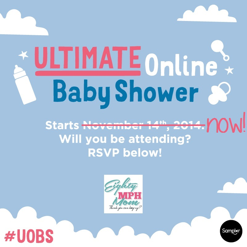 ULTIMATE Online Baby Shower, RSVP Now