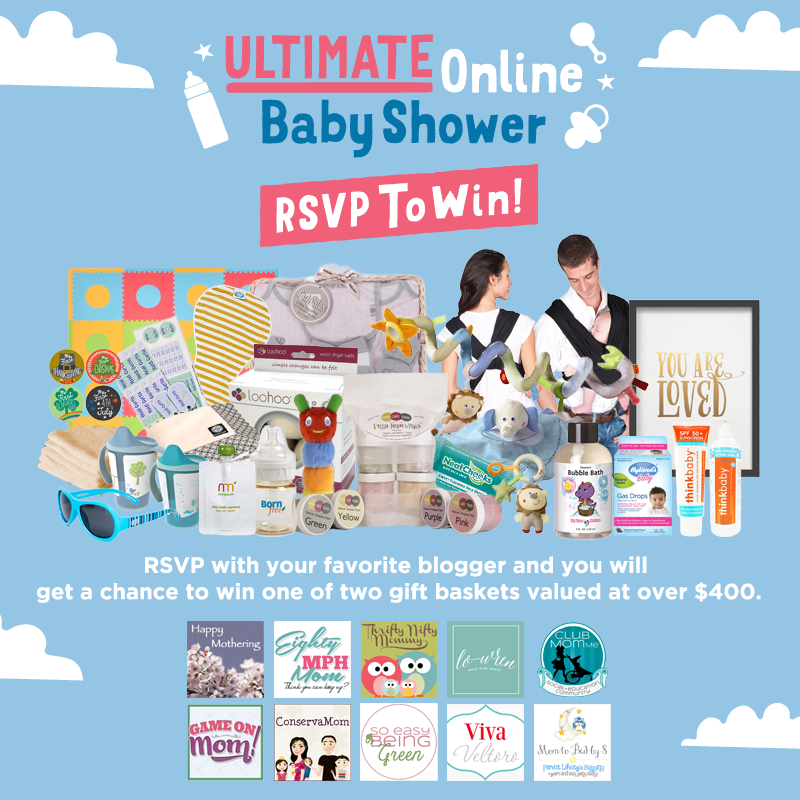 ULTIMATE Online Baby Shower