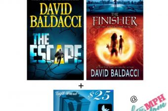 david baldacci,author,book,giveaway