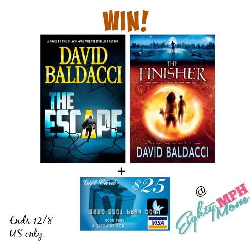 david baldacci,author,book,giveaway