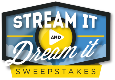 stream it and dream it, sweepstakes