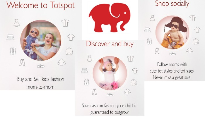 totspot, buy,sell, kids clothes