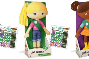 Girl Scouts, friendship dolls