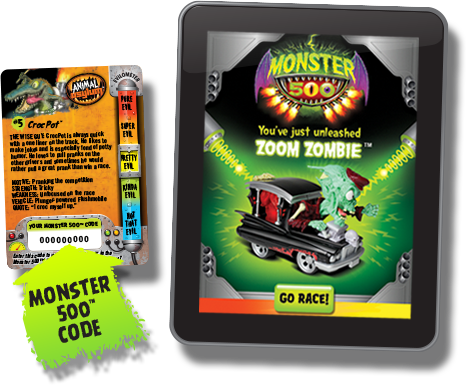 Monster 500 Game Code for App