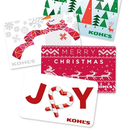 Kohl's Holiday Gift Cards